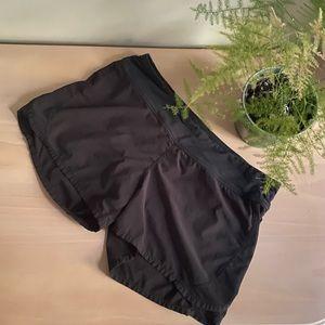 LULULEMON Black Wet Dry Warm Mesh Running Shorts